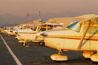 Sunset - Contact us in Prescott, Arizona, for aircraft parts, including oil coolers, and aircraft repairs.